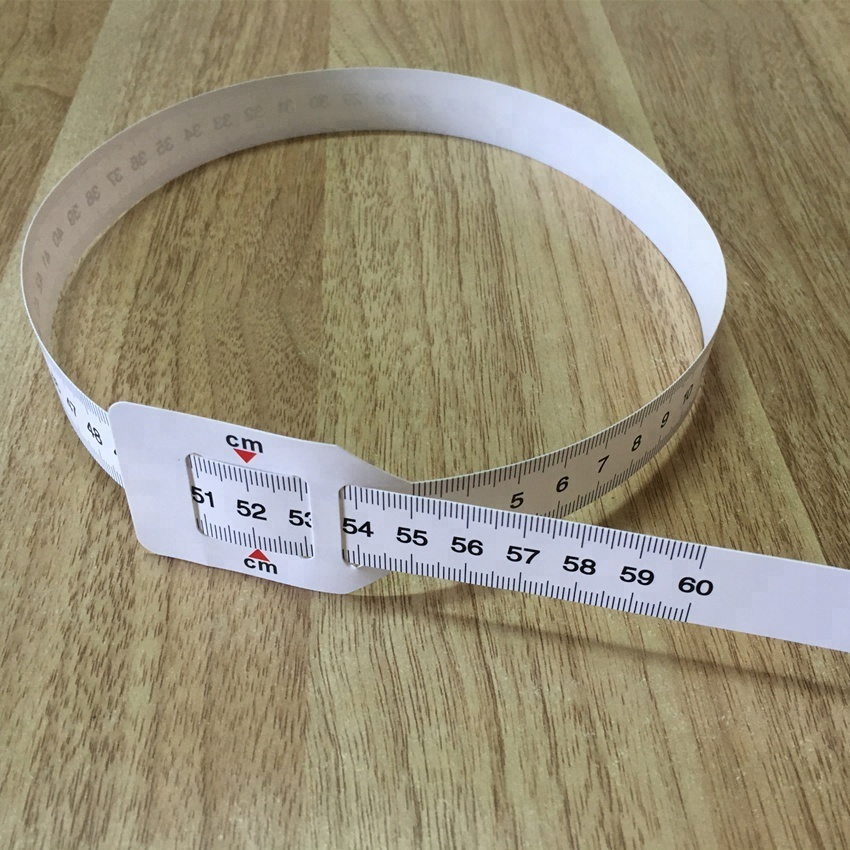 Plastic water proof Baby head Circumference 56cm/60cm white tape <strong>measure</strong>