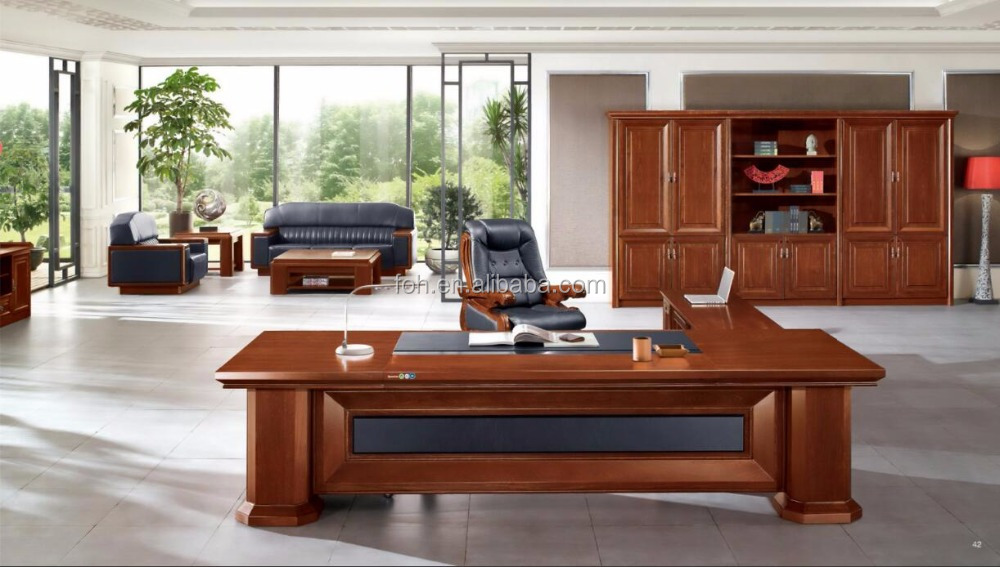 Clic Wooden Executive Office Suite