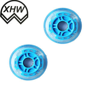 2018 hot selling skate board pu scooter wheel caster 64*24mm