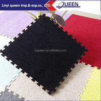 black rubber flooring bamboo mats