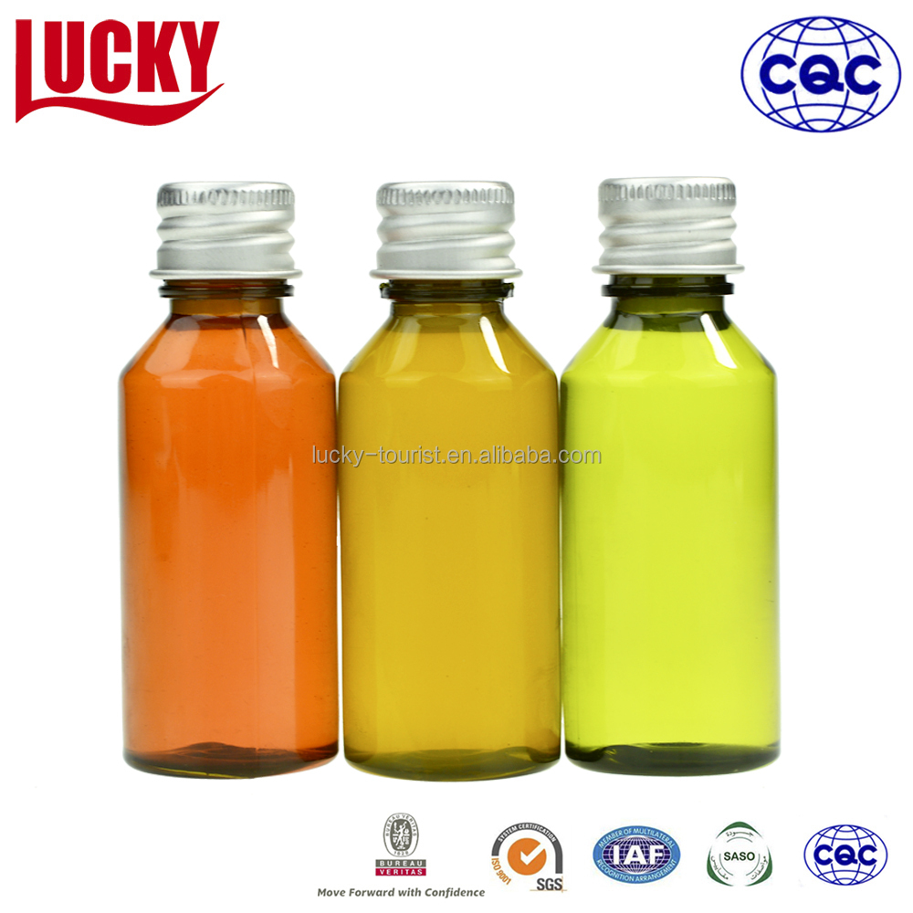 Wholesale Hotel Plastic Shampoo Bottle Mini Disposable Bottle