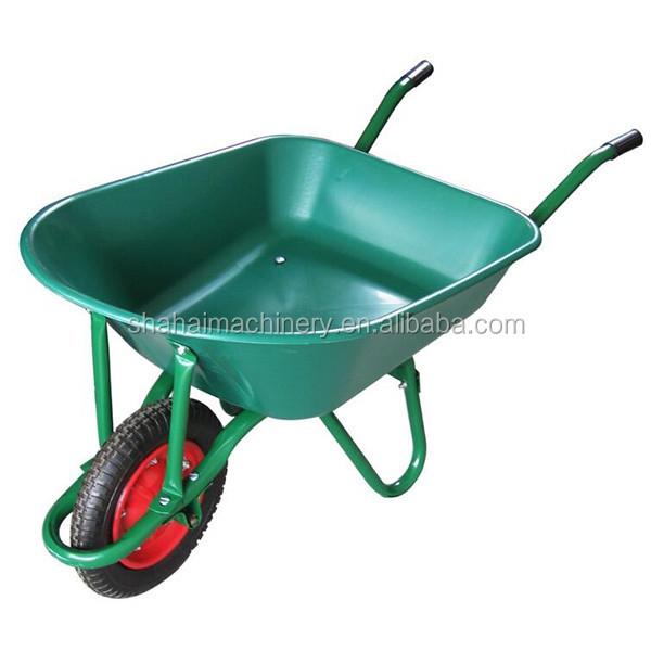 powder coating building equipment garden mini wheelbarrow/75l plastic wheelbarrow