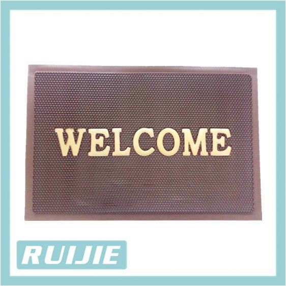 Ground floor protect pvc s mat with small s or z design