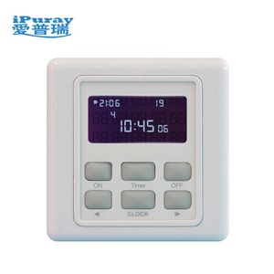 220V Automatic school bell timer switch