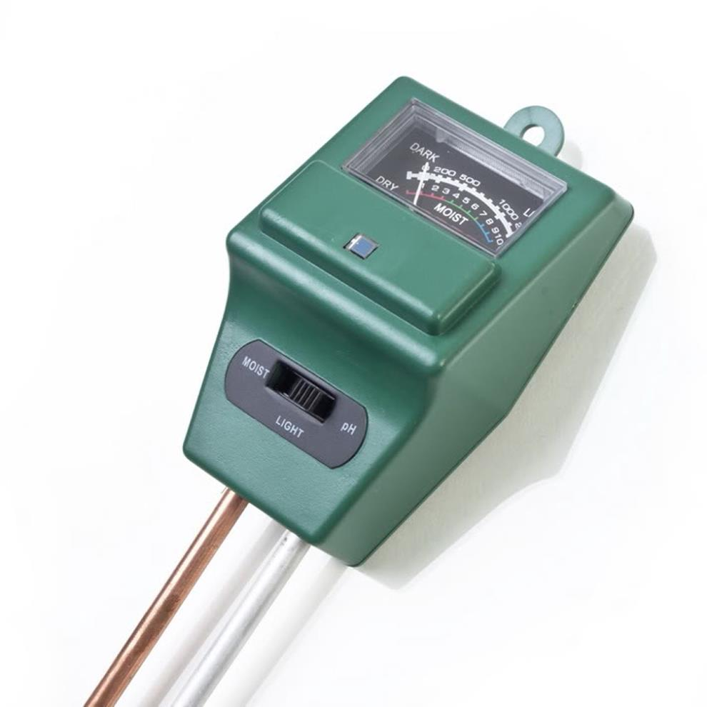 High Quality Soil Water Moisture PH Tester for Garden Plant Flower 3 in 1 Light Test <strong>Meter</strong>
