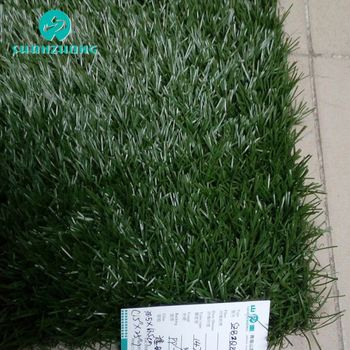 2019 new coming Plastic ornaments artificial grass pet mat