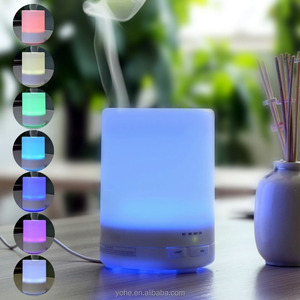 2016 new item ultrasonic humidifier atomizer led lamp humidifier with fragrance oil