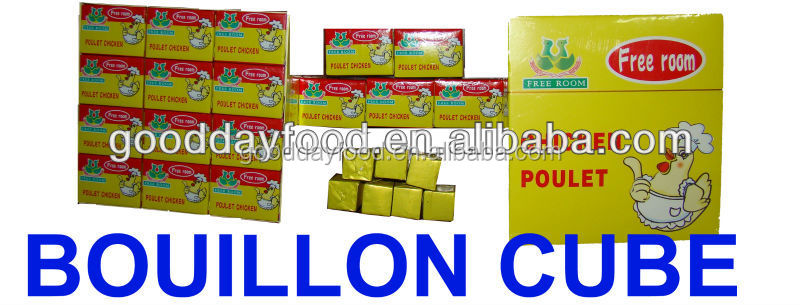 free promotion and good price poulet chicken soup stock cubes