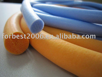 Silicone foam tube for door,Silicone protective foam tube,elastic insulating foam tube