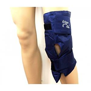 Hot cold knee wrap - High amount of gel for high efficiency - Confortable nylon wrapping which doesn't leak