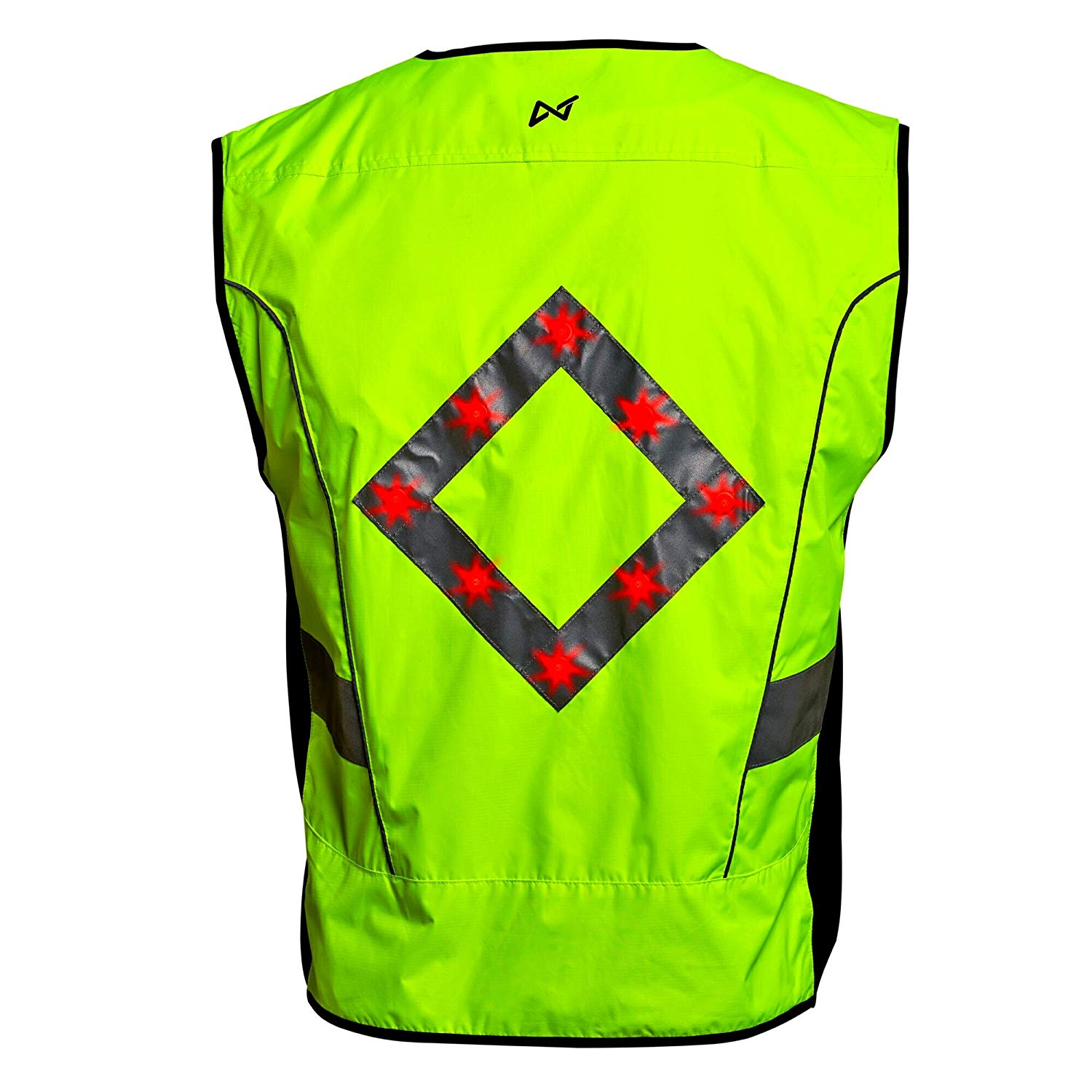 In 2019 Latest Design Reflective Safety Vest Cycling Bike Bicycle Vest Sleeveless Night Running Security Riding Outdoor Protection Excellent Quality