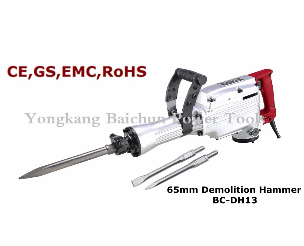 65mm 1350W SDS-MAX Electric demolition hammer drill