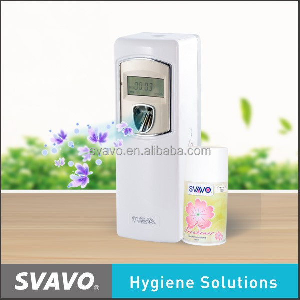 Hot sale!!! New Arrival Fan Style Air Automatic Perfume Dispenser, air freshener dispenser V-880