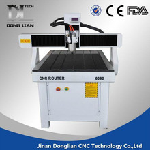 Jinan good quality 6090 small used cnc router sale;cnc router china with low price ;multi head cnc router