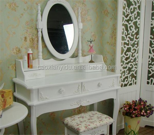 Dressing Makeup Table Fashion Colorful Dresser Cabinet Combination Low  Price Good Quality Dresser Set 60*