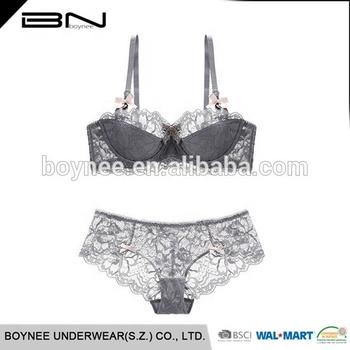 a5d3072eb7 Wholesale Women Lace Bralette Bra And Panty Lingerie Set - Buy ...