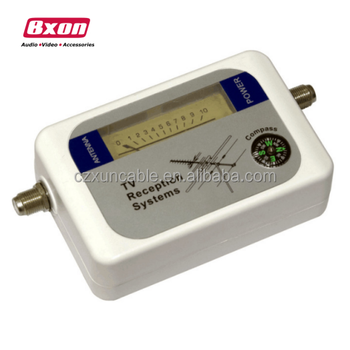 Mini Digital TV Antenna Satellite Signal Finder Meter DVB-T with Compass