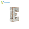 Home Deco Galvanized Vintage 3D Letters with LED light