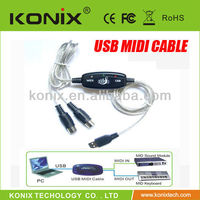 Buy usb 2 0 to midi cable in China on Alibaba.com
