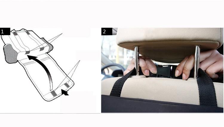 חדש 2014 המכונית רב המושב האחורי כיס בידוד שקיות אחסון ארגונית שקית OPP שקיות , שחור ,FreeShipping