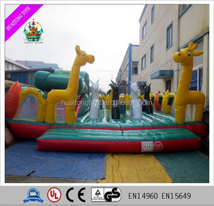 interesting inflatable amusement park inflatable fun city for promotion