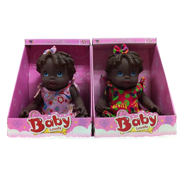 high quality 16 inch wholesale black <strong>dolls</strong> Africa black silicon <strong>doll</strong>