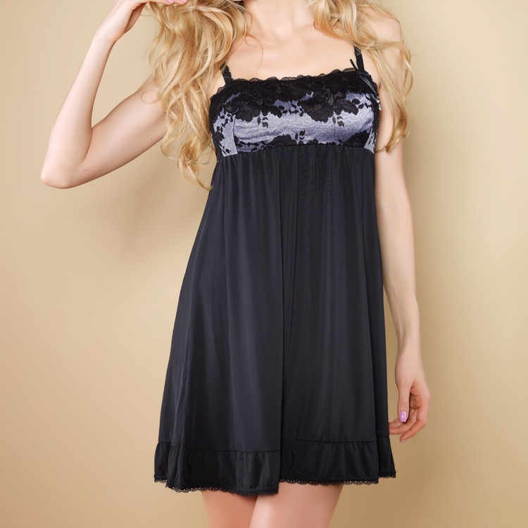 Cost-Effective Babydoll Hot Nightgown Teen Girls Sexy Sleepwear Lingerie