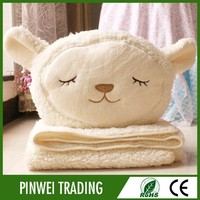 high quality thick baby soft plush toy wool mink fabric blankets
