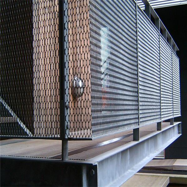 Decorativos de metal desplegado de acero galvanizado de - Malla de acero galvanizado ...