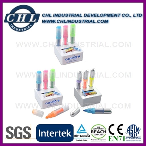 Promotional 3 in 1 highlighter marker