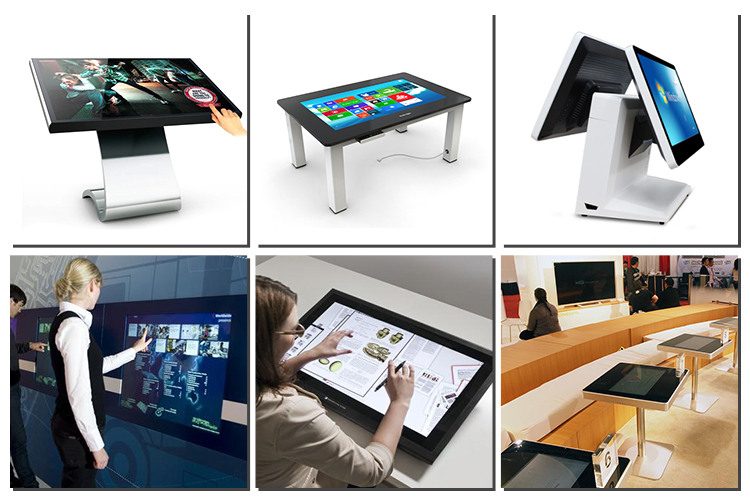 Factory supply standard 12.1inch capacitive touch screen customized touch panel