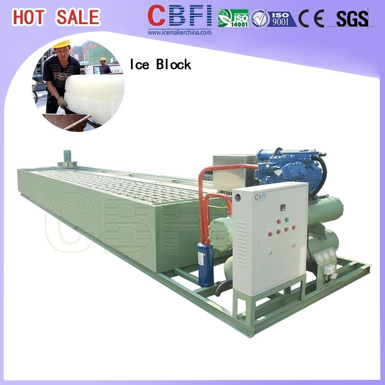 clear ice block machine for Indonesia