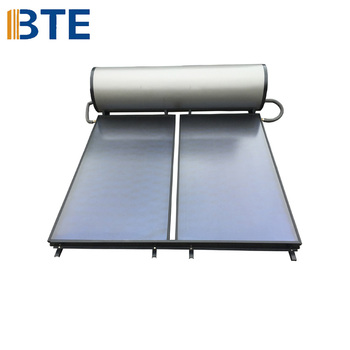 compact solar water heater for sloping loof
