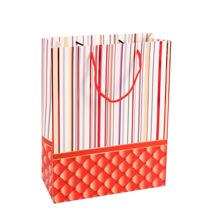 Hot Sales Eco-friendly Colorful Printing Decorative Gift Bags For Shopping, Small Jewelry Paper Bags