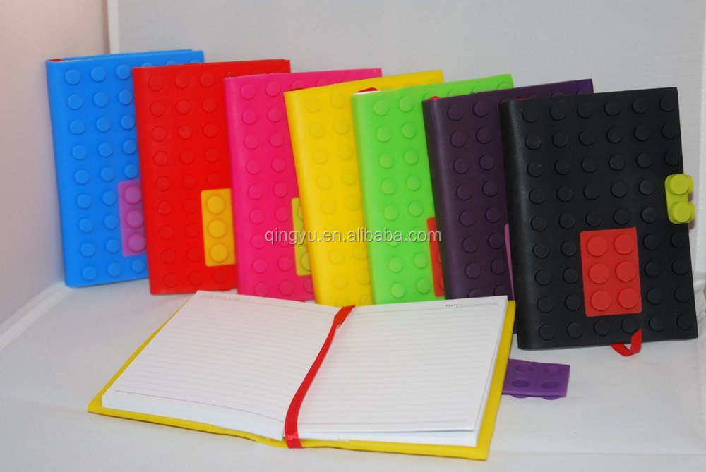 Colorful popular high quality Silicone notebook cover