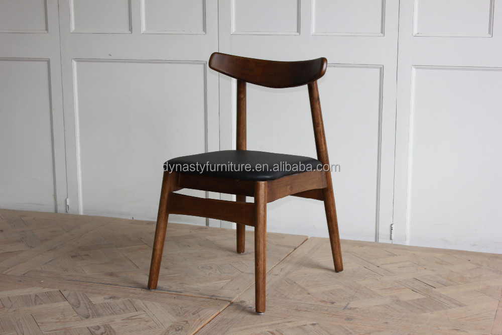 modern furniture high back long legs wood frame dining chair