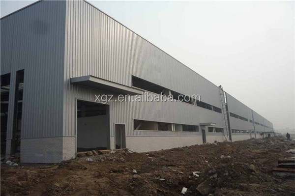 fast construction affordable prefabricated steel frame