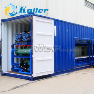 Koller 20 tons/day Containerized Ice Block Plant JDK200
