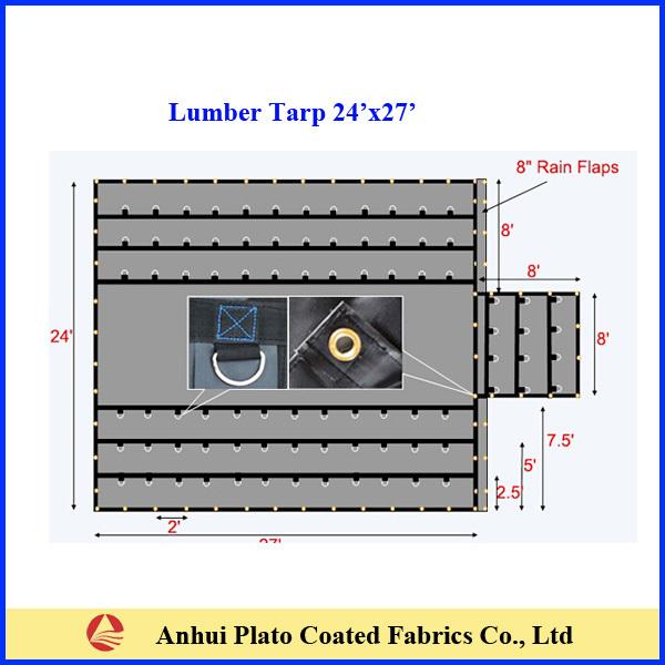 Cheap Pvc Vinyl Lumber Tarps Flatbed Truck Tarps Buy