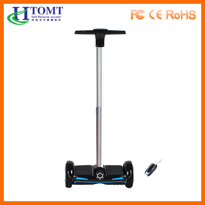 2016 New remote control F1 self balancing board scooter 8 inch 2 wheel smart balance electric scooter with handle bar