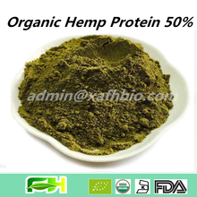 New Superfood Certified Concentrate Green Hemp Protein Powder 50%, Organic Green Hemp Protein