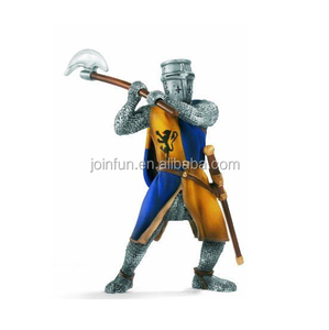 customized 3d plastic knights weapon set of toys,custom make OEM design toys knights plastic toys with weapon