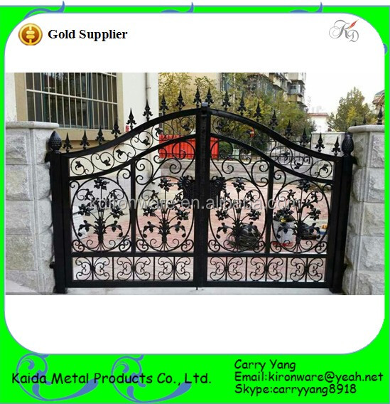 Factory Price Ornamental Indian House Main Gate Designs,Wrought ...