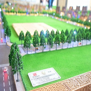 New design house primary middle school buildings projects miniature architectural 3D scale models making