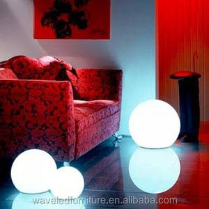 Rechargeable Illuminated waterproof floating led ball