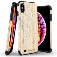 2019 New coming product wooden back cover phonecase for iphone X
