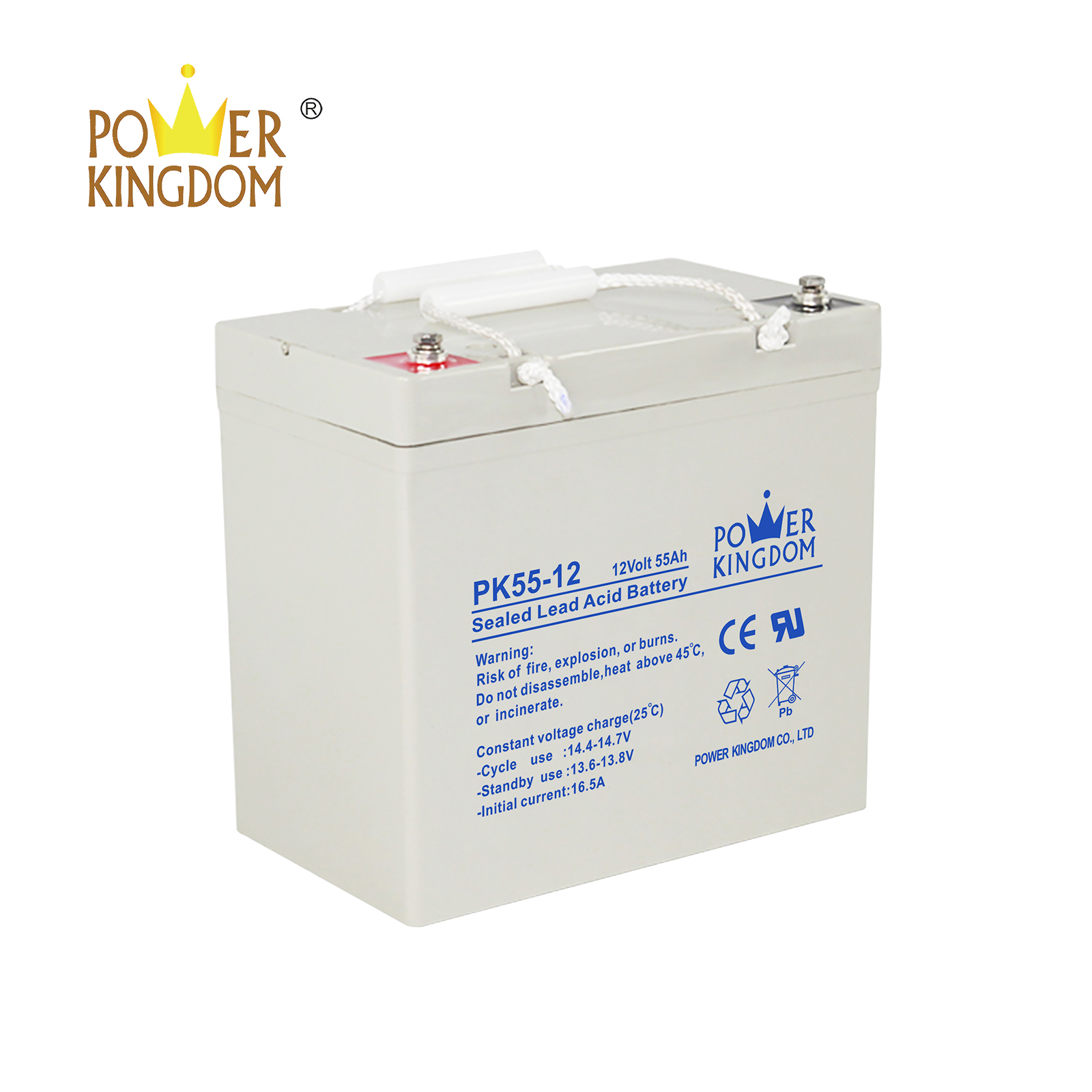 Power Kingdom no electrolyte leakage deep cycle battery voltage company wind power systems-3