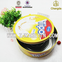 REACH and EU regulation degree Empty cookie tin box tin container