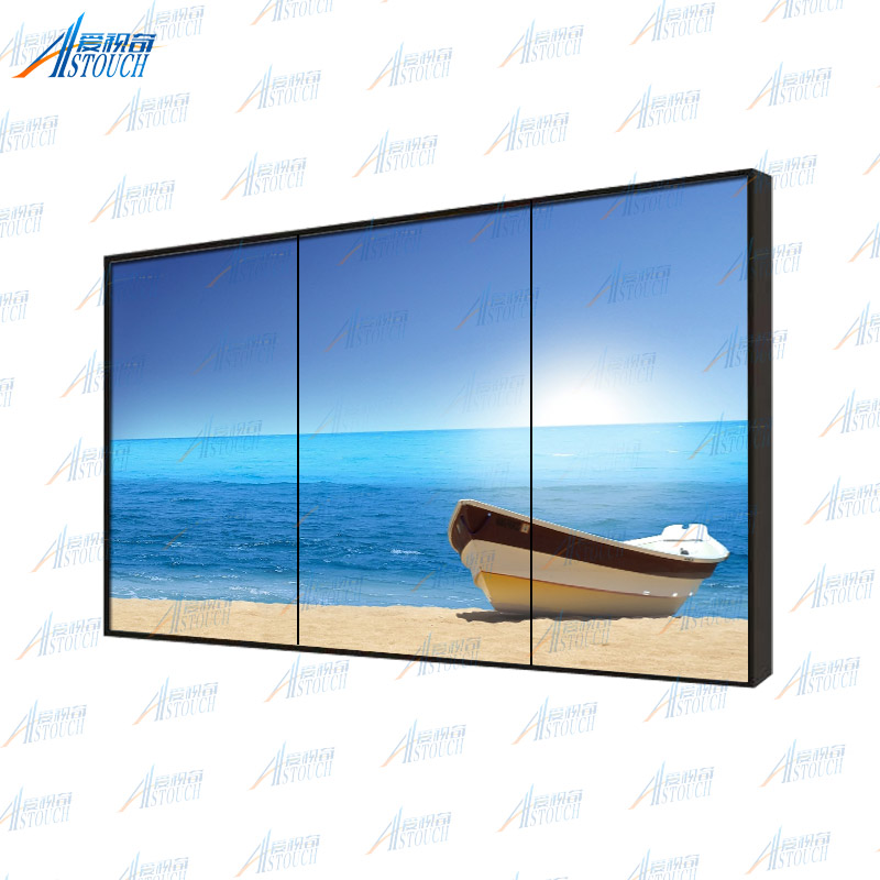 Factory price big screen 55 inch ultra narrow bezel lcd video wall