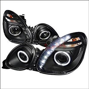 Spec-D Tuning Lexus GS 300 (Non-Factory Xenon Models) 1998 1999 2000 2001 2002 2003 2004 2005 Halo Projector Headlights - Black
